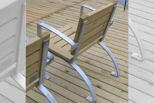 luco silla chaises openspace fabricant de mobilier urbain design. Black Bedroom Furniture Sets. Home Design Ideas