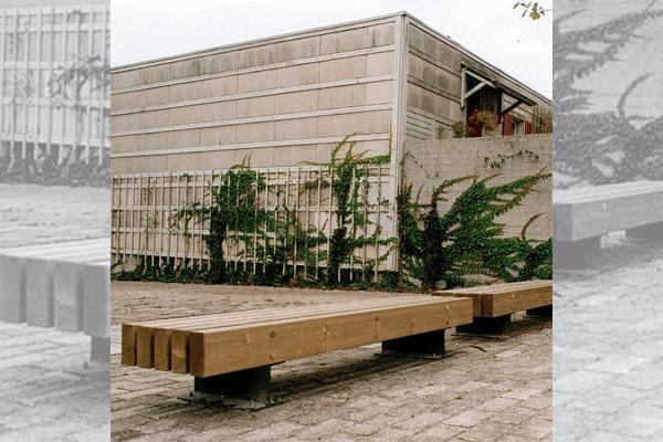 Tramet bancs openspace fabricant de mobilier urbain design - Mobilier urbain design ...