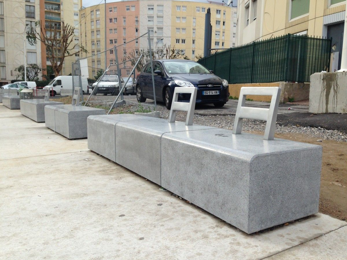Banc sur mesure quartier des moulins nice 06 for Site mobilier design