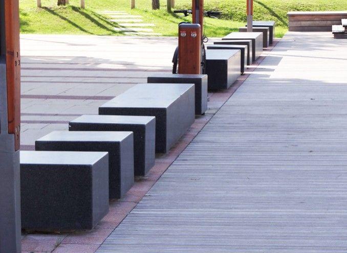 Am nagement de la place de la b casse anglet am nagement place nos r al - Mobilier urbain design ...